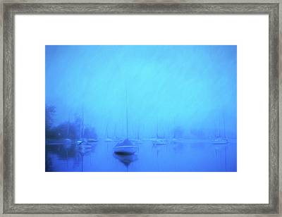 Framed Print featuring the photograph Lonesome Harbor by Joel Witmeyer