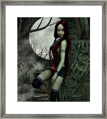 Lonesome Night Framed Print