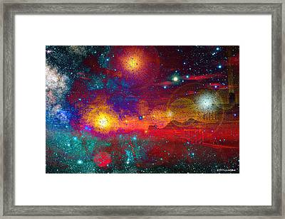Lonesome Road Framed Print