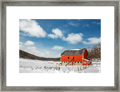 Lonesome Valley Framed Print by Todd Klassy