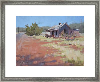 Loney Road Framed Print by Todd Baxter