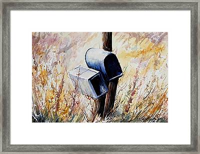 Long Ago And Far Away Framed Print by Wilfred McOstrich