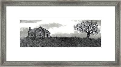 Long Ago Framed Print by Jonathan Baldock