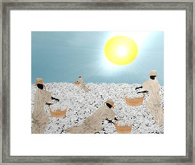 Long And Suffering Framed Print