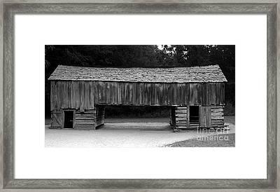 Long Barn Framed Print by David Lee Thompson