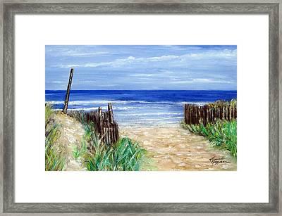 Long Beach Island Nj Framed Print