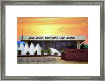 Long Beach Performing Arts Center Framed Print