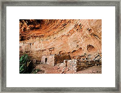 Long Canyon 05-219 Framed Print