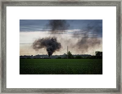 Long Chug Framed Print by CJ Schmit