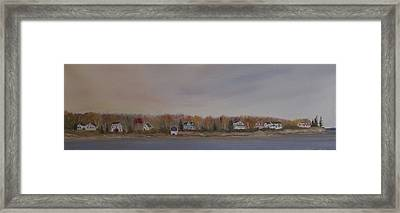 Long Cove Fall Framed Print