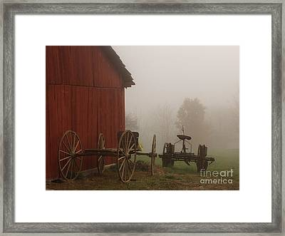 Long Day Framed Print by Carol Sweetwood