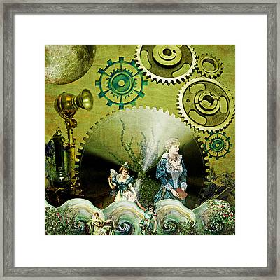 Long Distance Framed Print by Ally  White