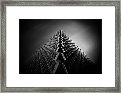 Long Exposure Pittsburgh Skyline  Framed Print by Emmanuel Panagiotakis