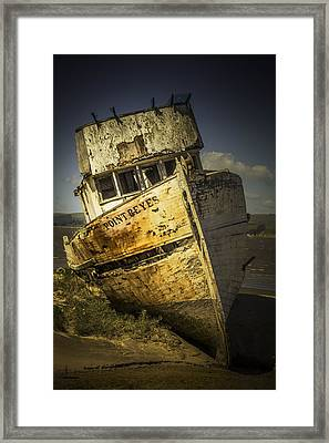 Long Forgotten Boat Framed Print by Garry Gay