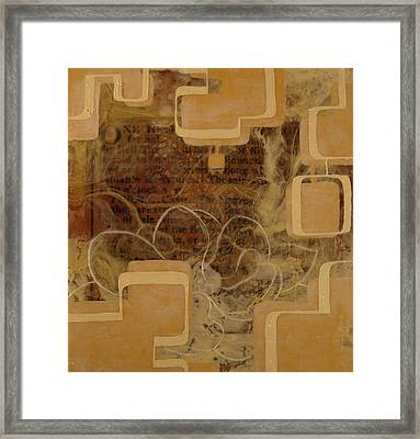 Long Gone And Far Away Framed Print by Monica James