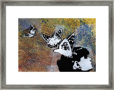 Long Gone Whisper Framed Print