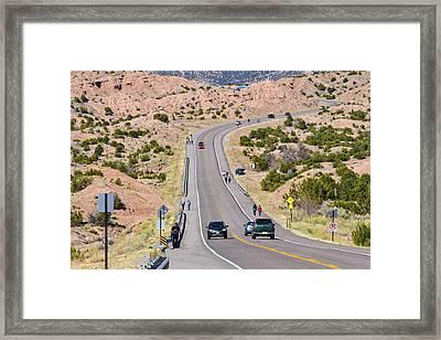Long Hike Framed Print