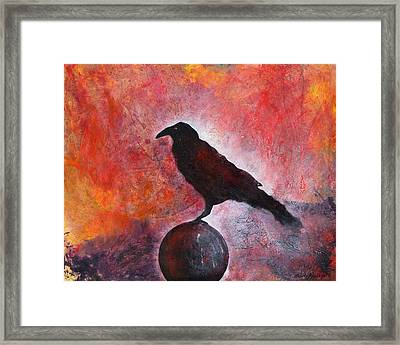 Long I Stood There Framed Print by Sandy Applegate