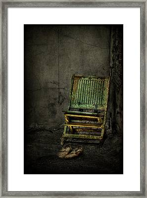 Long Is The Time. Hard Is The Road. Framed Print by Evelina Kremsdorf