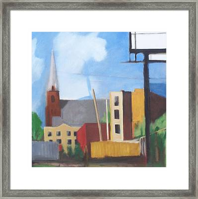 Long Island City Church Framed Print