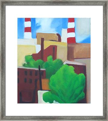 Long Island City View Framed Print