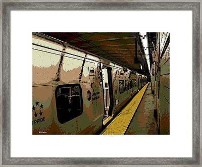 Long Island Railroad Framed Print