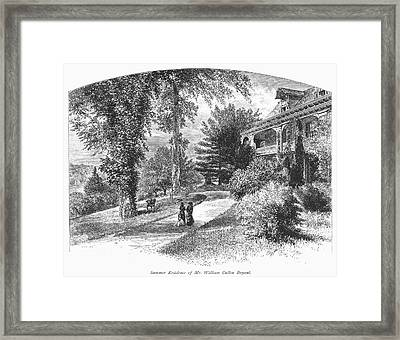 Long Island: Summer Home Framed Print by Granger