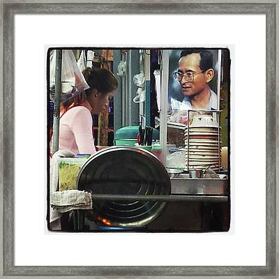Framed Print featuring the photograph Long Live The King. Even After His by Mr Photojimsf
