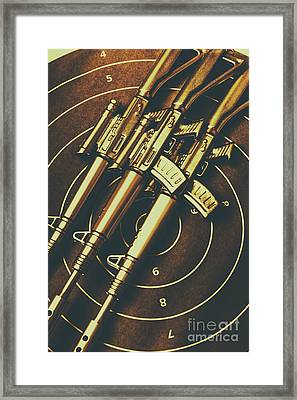 Long Range Tactical Rifles Framed Print