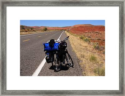 Long Road Ahead Framed Print by Aidan Moran
