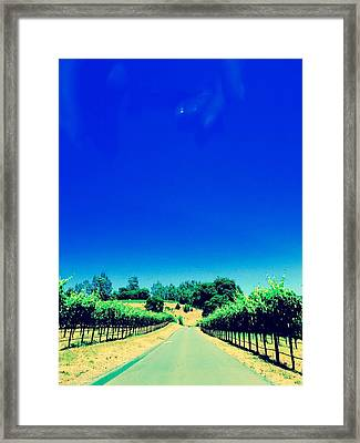 Long Road Framed Print by Gillis Cone