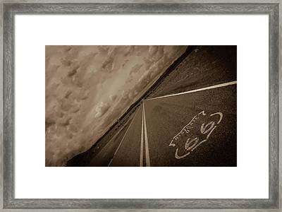 Long Road Too Framed Print by Brendan Quinn