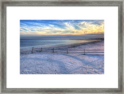 Framed Print featuring the photograph Long Shadows by Michelle Wiarda