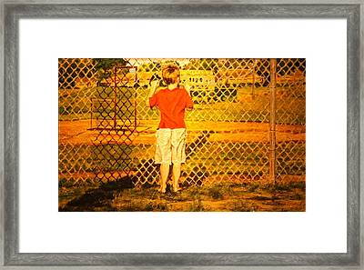 Long Shadows Framed Print by Thomas Akers