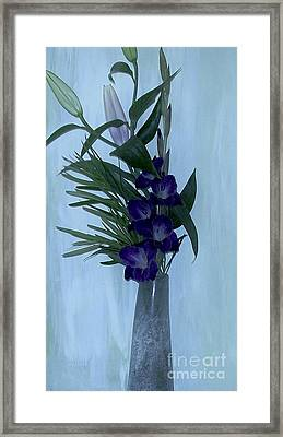 Long Tall And Gorgeous Framed Print by Marsha Heiken