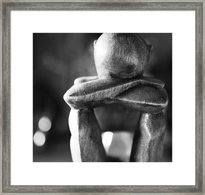 Long Thought  Framed Print by Empty Wall