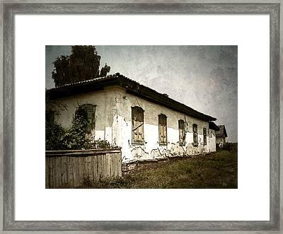 Long Time Ago Framed Print by Julie Palencia