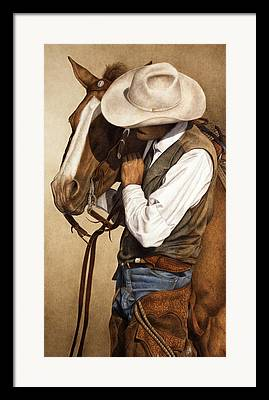 Cowboys Framed Prints