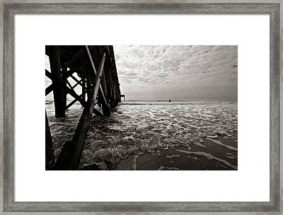 Long To Surf Framed Print