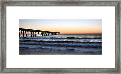 Long View Framed Print by JC Findley