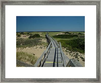 Long Walk Framed Print by Eric Workman
