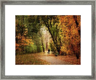 Long Walk Home Framed Print by Jessica Jenney