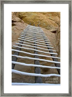 Long Way To The Top Framed Print