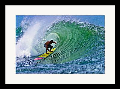 Longboarding Framed Prints