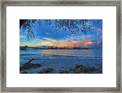 Longboat Pass 2 Framed Print