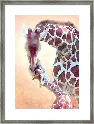 Longest Love Framed Print