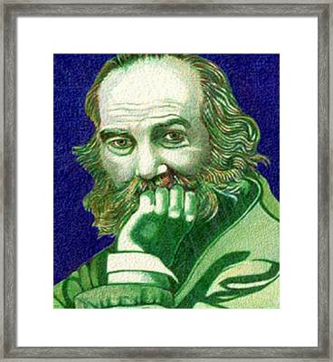 Longfellow Framed Print by Jerry  Stith
