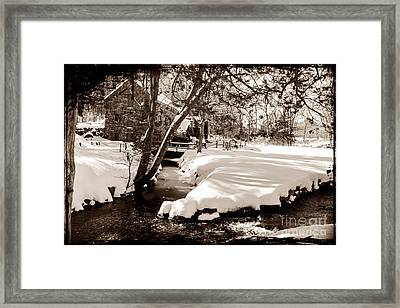 Longfellow's Mill Framed Print by Frank Garciarubio
