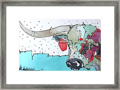Longhorn No. 717 Framed Print