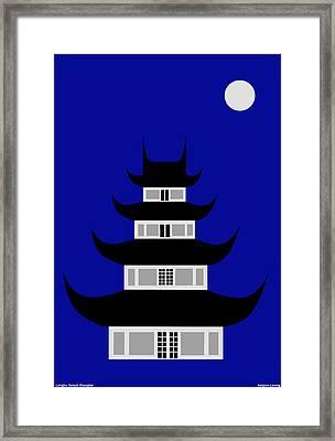 Longhua Framed Print by Asbjorn Lonvig